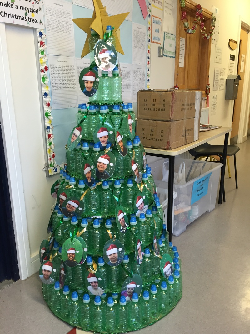 Second Class Recycled Christmas tree competition